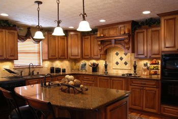 Kitchen Cabinets Center Line MI