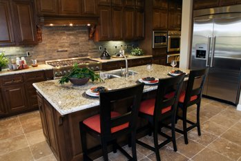 Kitchen Remodeling in Warren MI: Cabinets, Countertops | Creative Building & Remodeling - red