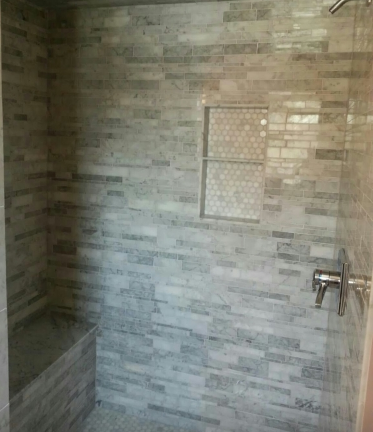 Bathroom Shower Tiles Center Line MI